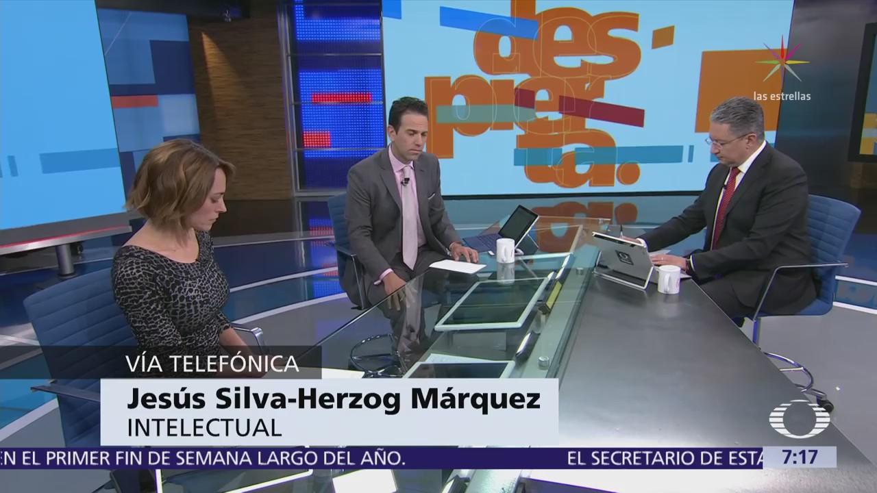 Jesús Silva Herzog Márquez lamenta reacción de AMLO a su artículo