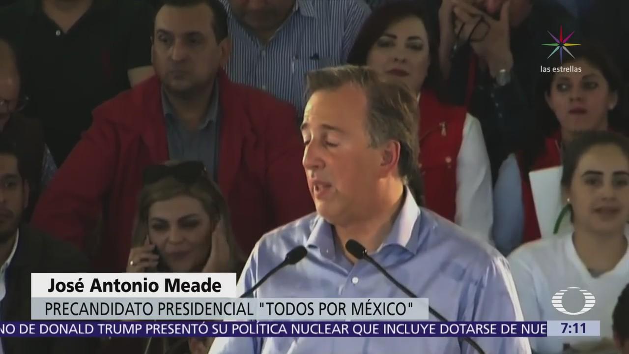 José Antonio Meade presenta propuesta para impulsar al campo mexicano