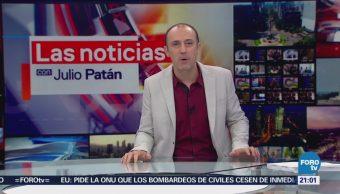 Las Noticias con Julio Patán Programa del 19 de febrero de 2018