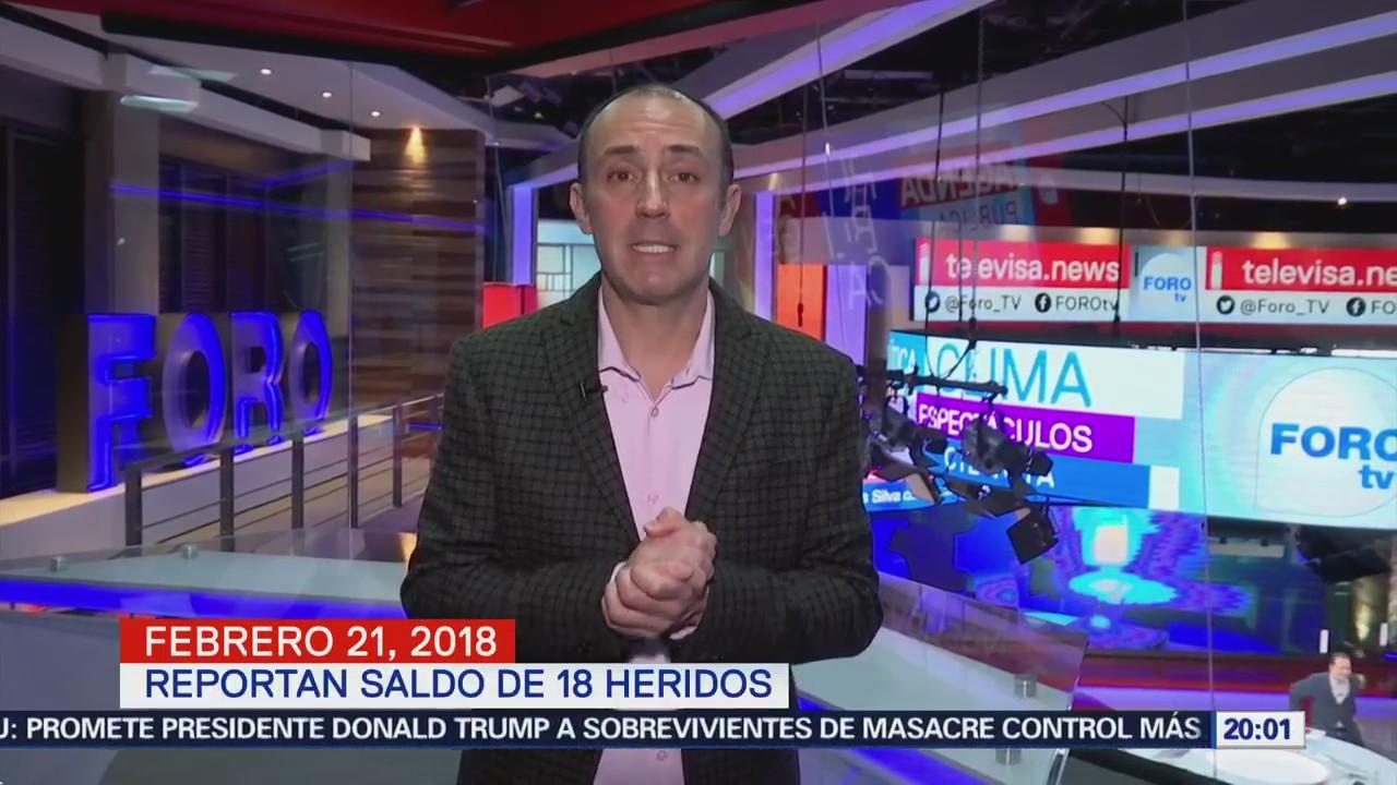 Las noticias, con Julio Patán: Programa del 21 de febrero de 2018