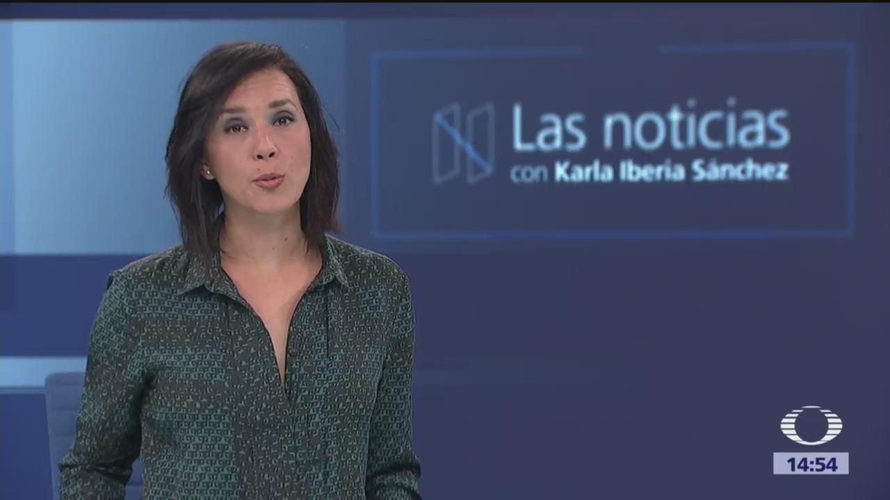 Las Noticias, con Karla Iberia Programa del 21 de febrero de 2018
