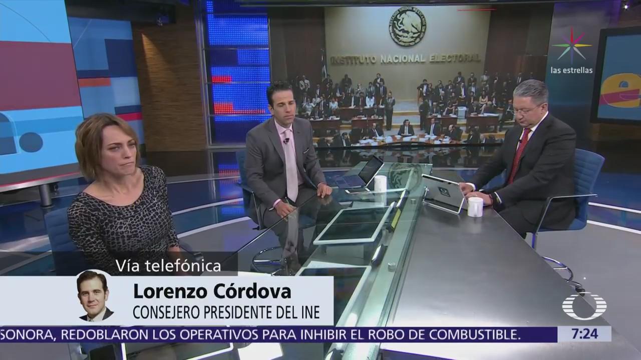Lorenzo Córdova habla en Despierta del convenio entre el INE y Facebook