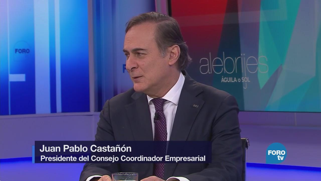 Los Alebrijes entrevistan a Juan Pablo Castañón, presidente del CCE