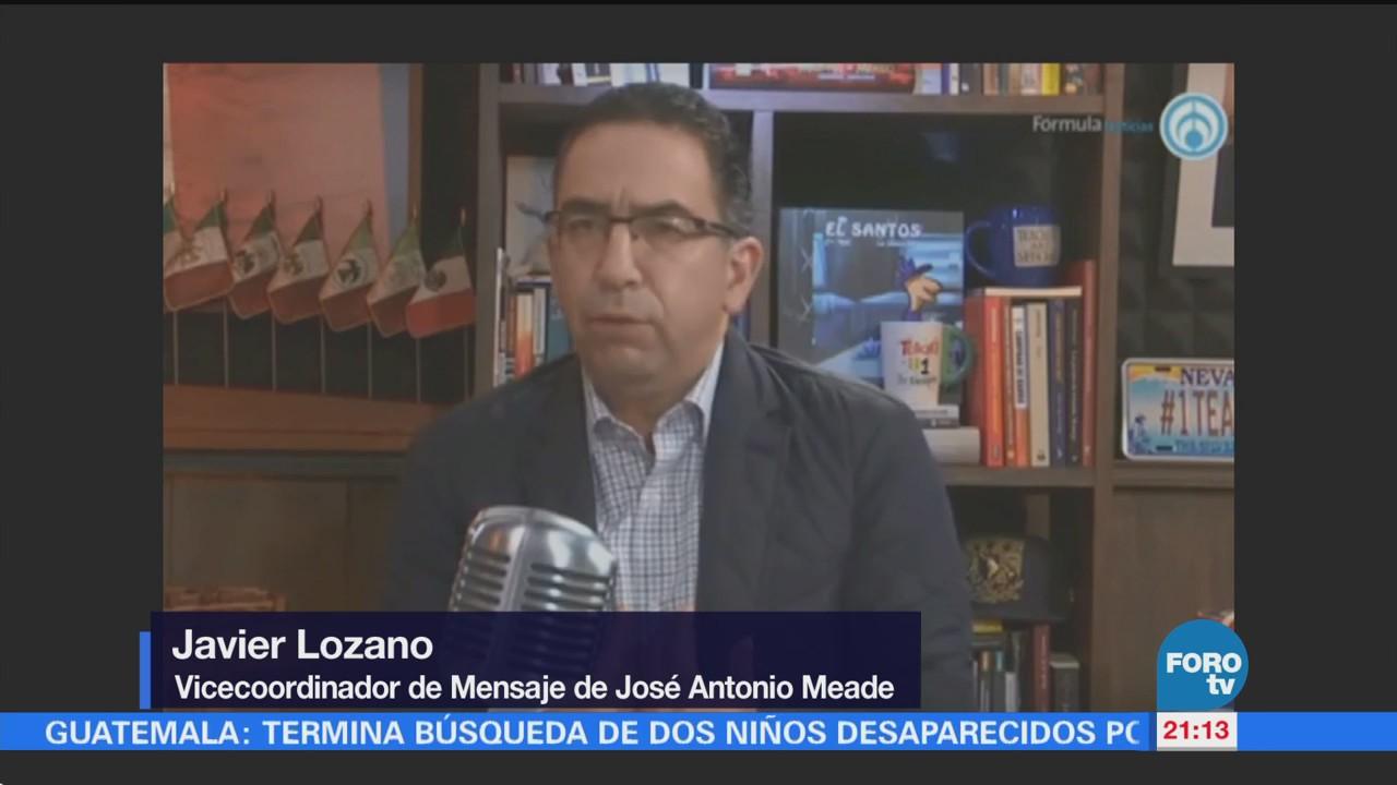Lozano habla sobre caso de Anaya