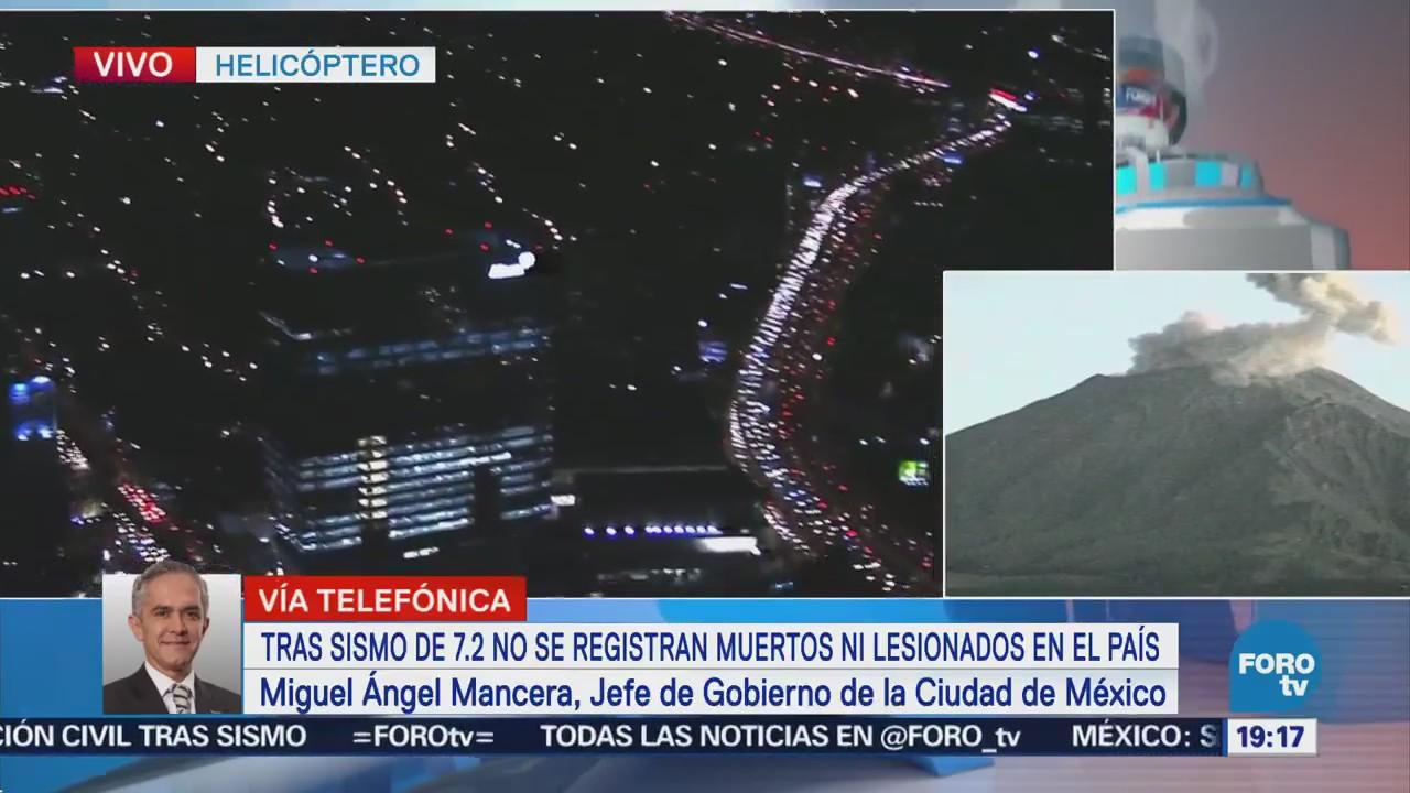 Mancera Confirma Cortes Energía Eléctrica Xochimilco Tláhuac Tras Sismo