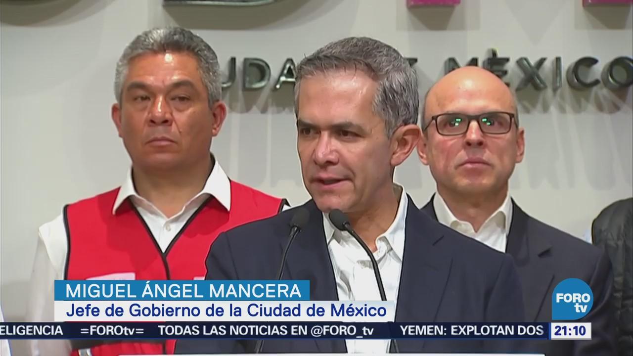 Mancera manifiesta su apoyo por hechos ocurridos en la UNAM