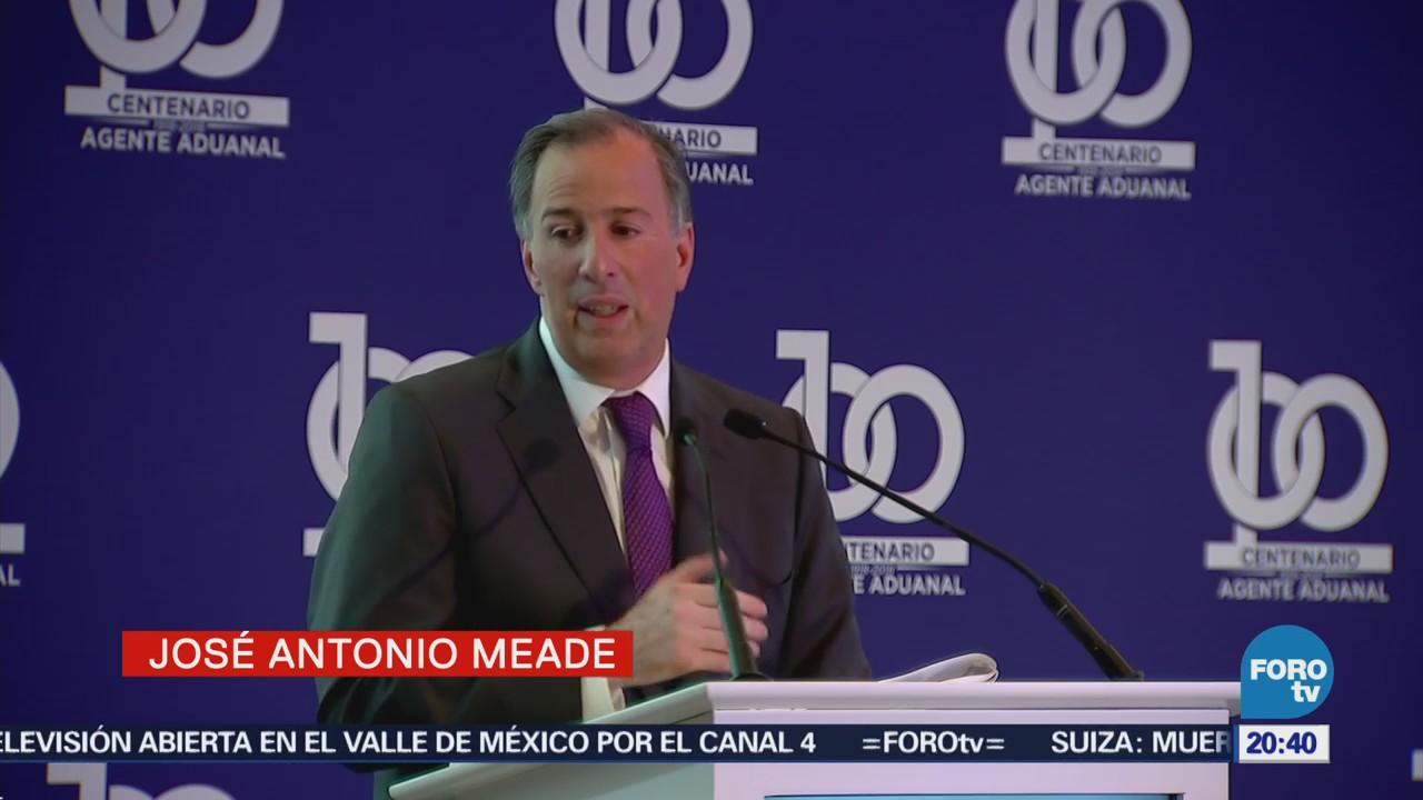 Meade asiste como invitado a evento de agentes aduanales