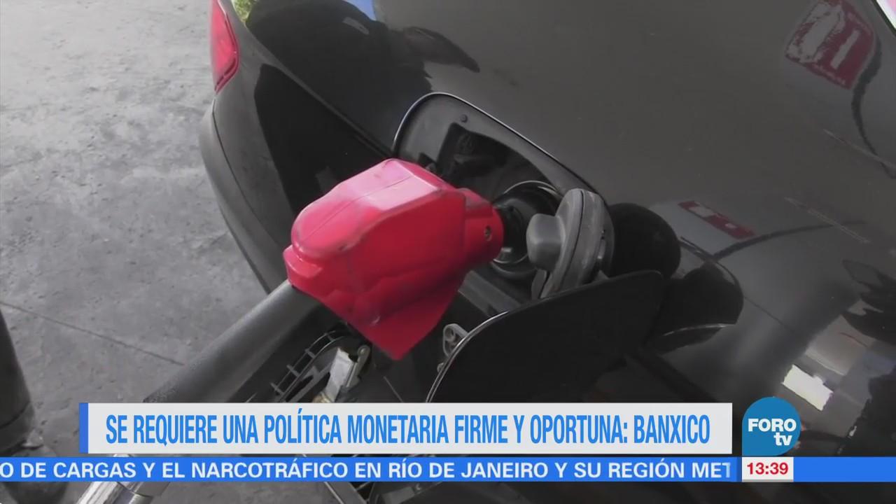 Analistas privados consultados por Banxico revisaron su previsión de crecimiento económico de México; en contraste, aumentaron su expectativa de inflación