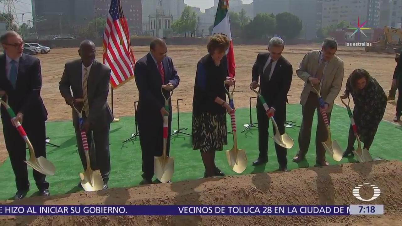 Nueva embajada de Estados Unidos en CDMX se ubicará en el Nuevo Polanco