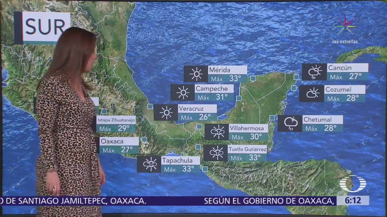 Nuevo frente frío traerá chubascos y lluvias en el noroeste del país