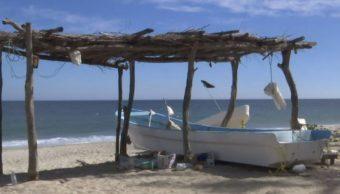 Sigue la búsqueda de tres pescadores en el Golfo de Tehuantepec