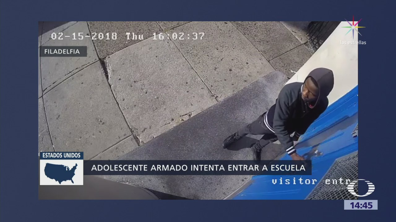 Policía Eu Difunde Imágenes Adolescente Armado Escuela