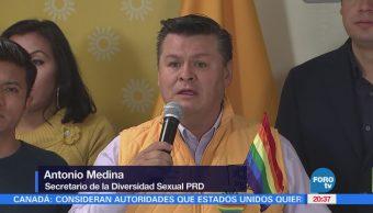 PRD rechaza propuestas de Mikel Arriola sobre comunidad LGBT