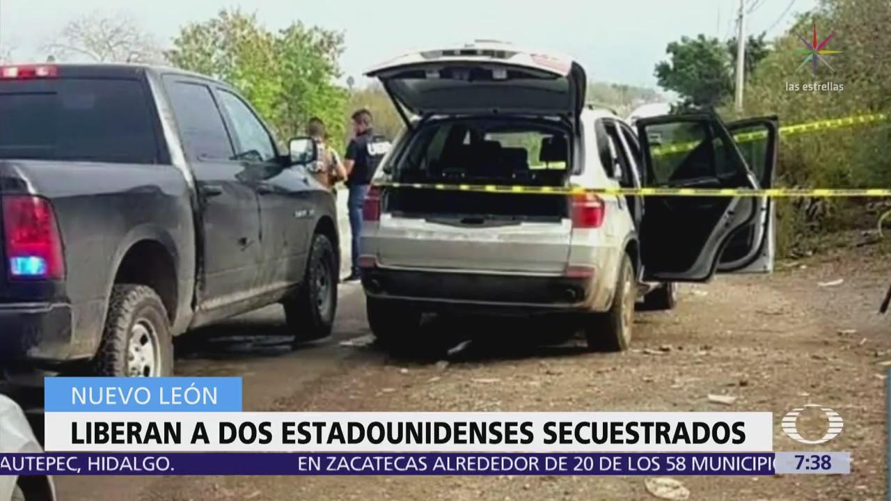 Rescatan en Nuevo León a dos estadounidenses secuestrados el 18 de febrero
