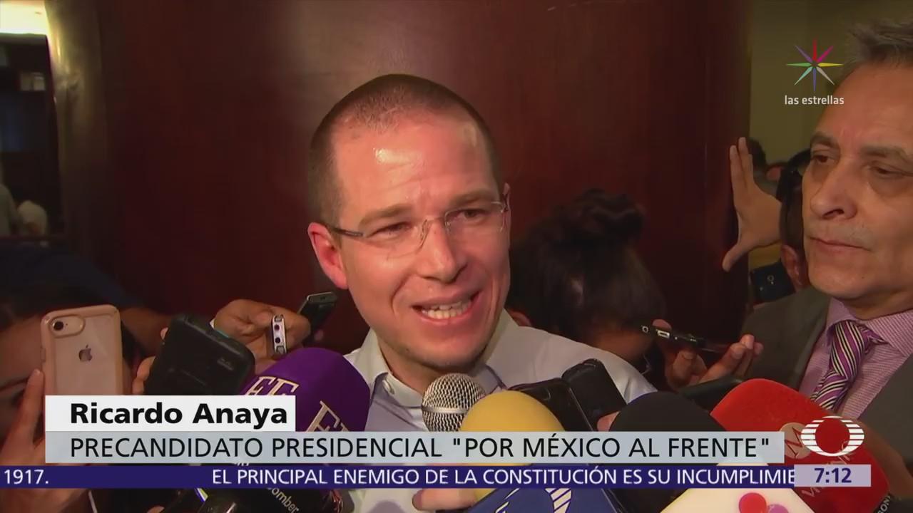 Ricardo Anaya denuncia guerra sucia detrás del artículo que publicó Proceso