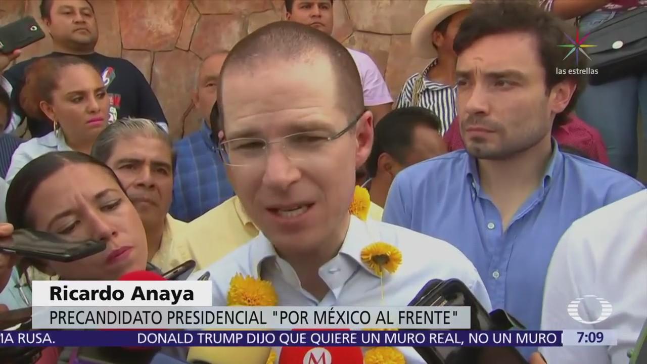 Ricardo Anaya responde a señalamientos contra la fundación 'Por más humanismo'