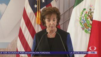 Roberta Jacobson recomienda a México estar alerta ante posible interferencia rusa