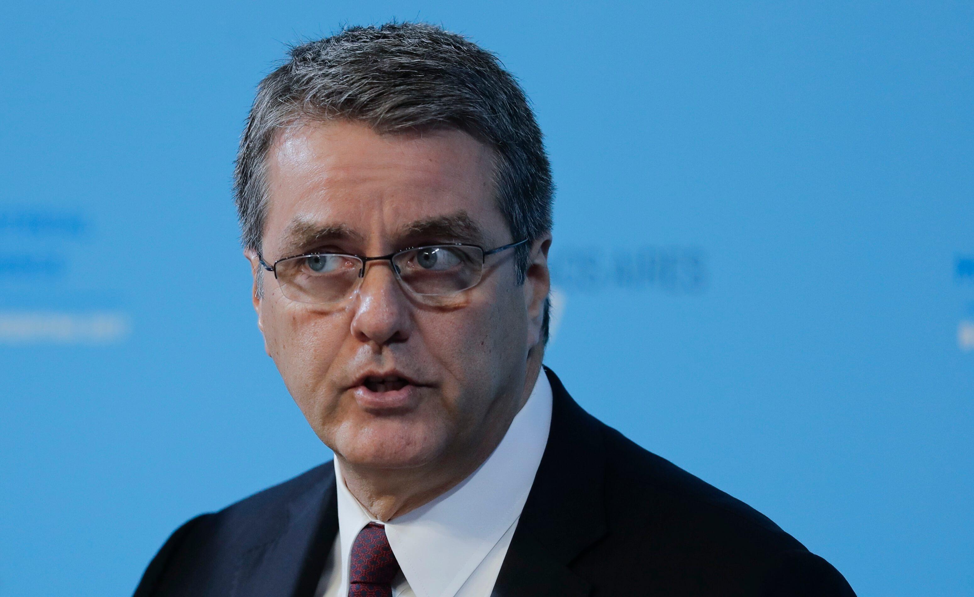El director de la OMC responde a críticas de Donald Trump