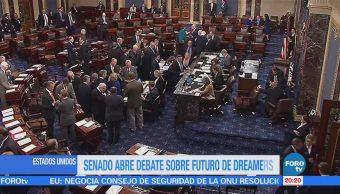 Senado abre debate sobre el futuro de 'dreamers'