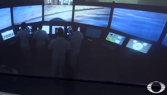 Marinos mexicanos entrenan en simuladores de alta tecnología (Noticieros Televisa)