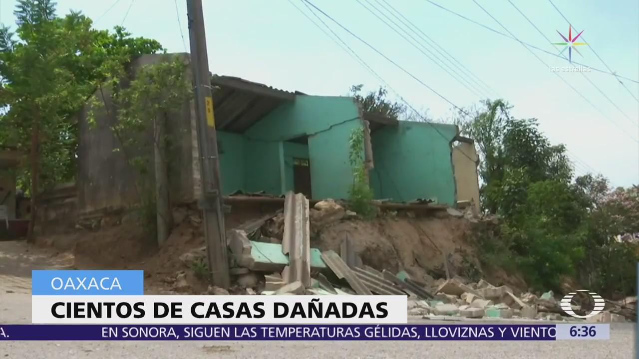 Suman mil 500 casas afectadas por el sismo en Pinotepa Nacional, Oaxaca