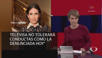 Televisa rompe relación laboral con Gustavo Loza