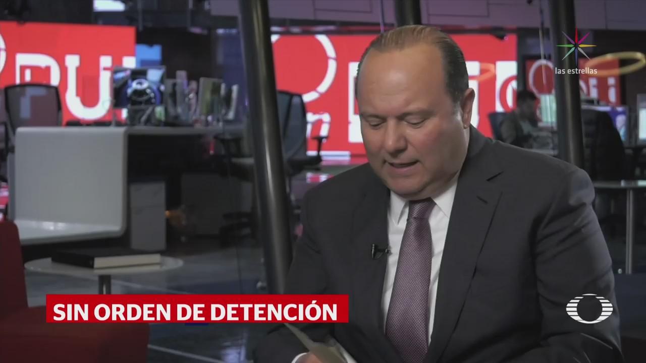 Texas no ha recibido orden para detener a César Duarte