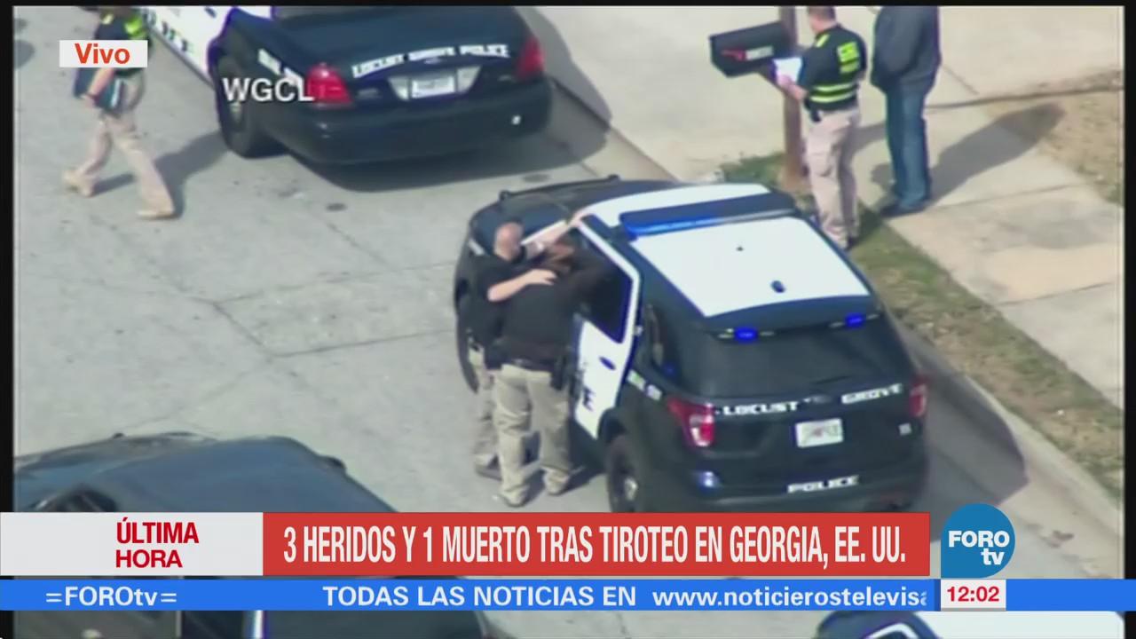 Muerto Tres Heridos Tras Tiroteo Georgia