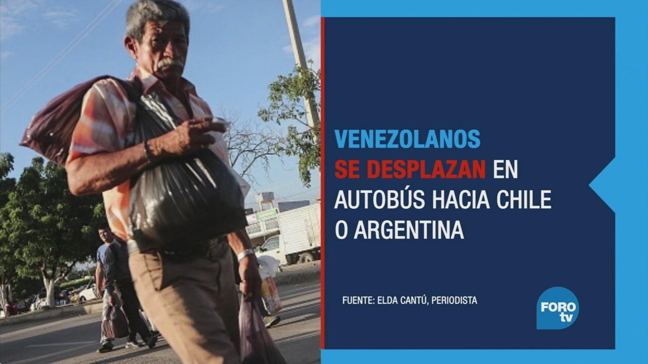 Venezuela: 2018 será el peor periodo para los desplazados