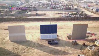Visitar prototipos del muro de Trump, nueva atracción turística