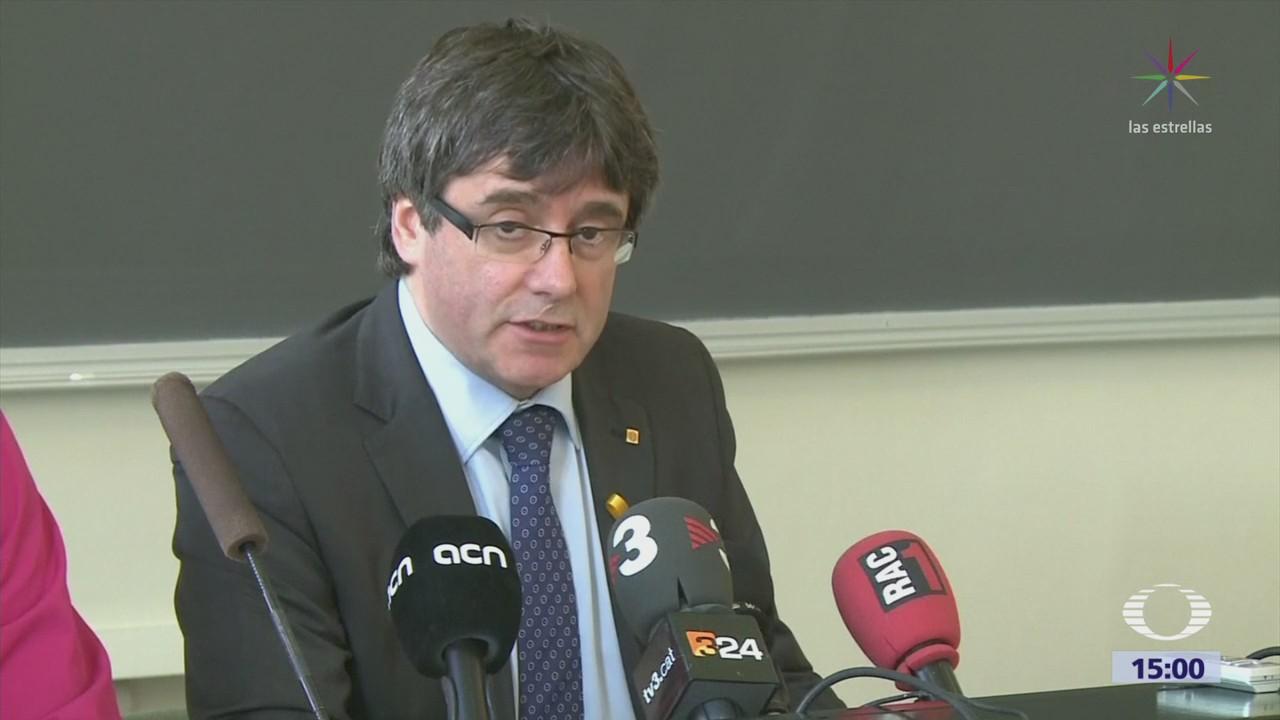 Reactivan Orden Detención Contra Puigdemont