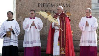 Papa Francisco insta a jóvenes a alzar la voz en Domingo de Ramos