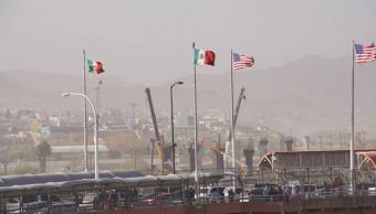 Foto: Fuertes vientos en Ciudad Juárez, Chihuahua, 21 abril 2019