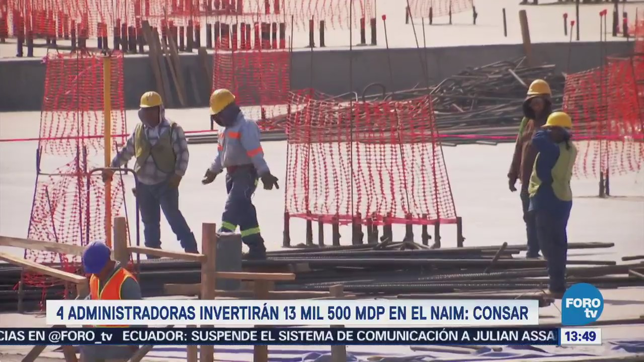 Afores invierten en la construcción del NACM: Consar