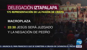 Agenda de Jueves Santo en Iztapalapa