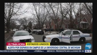 Alerta por disparos en campus de la Universidad Central de Michigan