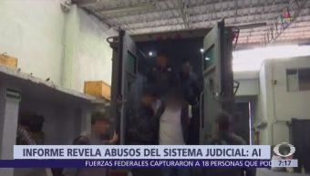 Amnistía Internacional apoya informe ONU sobre tortura contra detenidos del caso Iguala