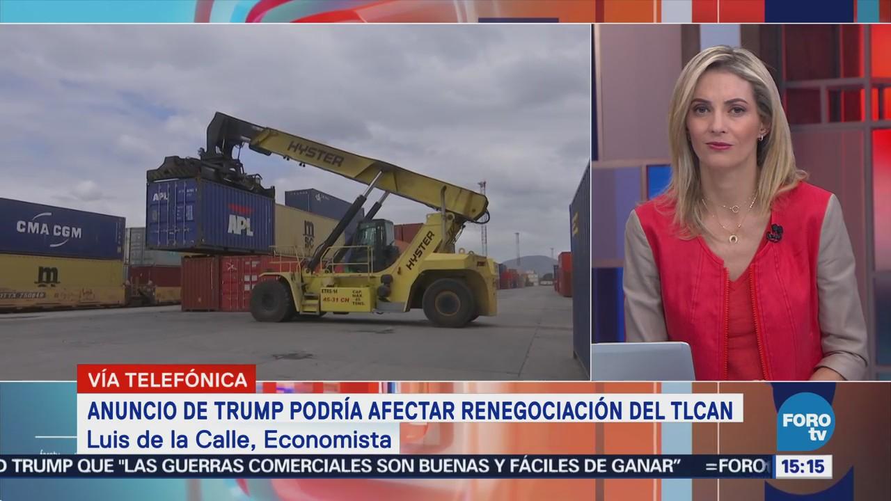 Anuncio Trump Podría Afectar Renegociación Tlcan