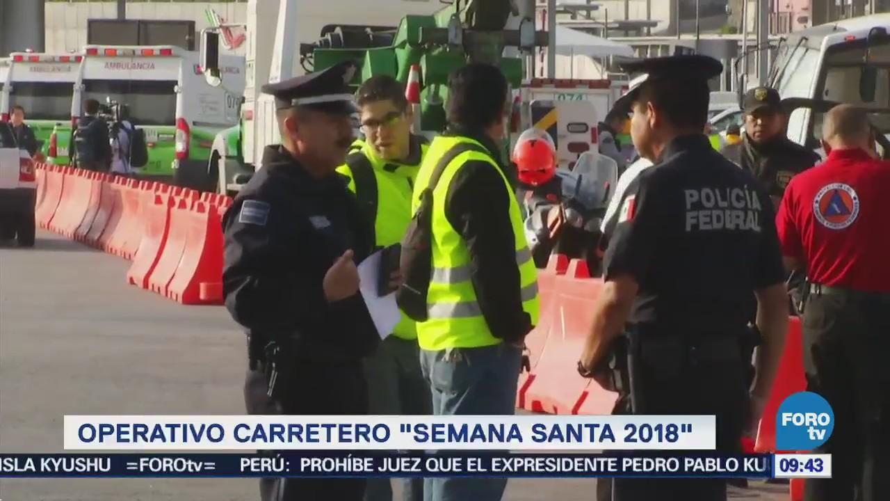 Arranca operativo carretero por vacaciones de Semana Santa
