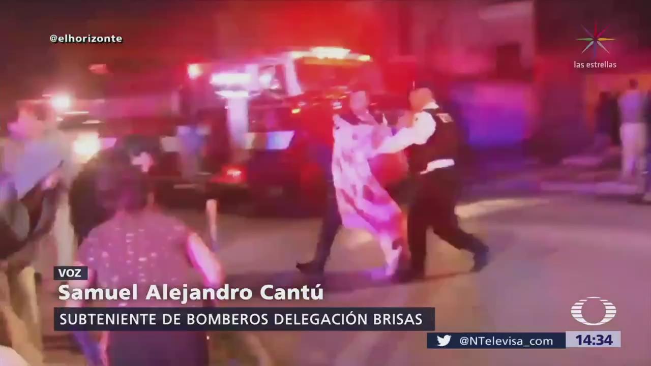 Bomberos salvan a ancianos en asilo en Monterrey