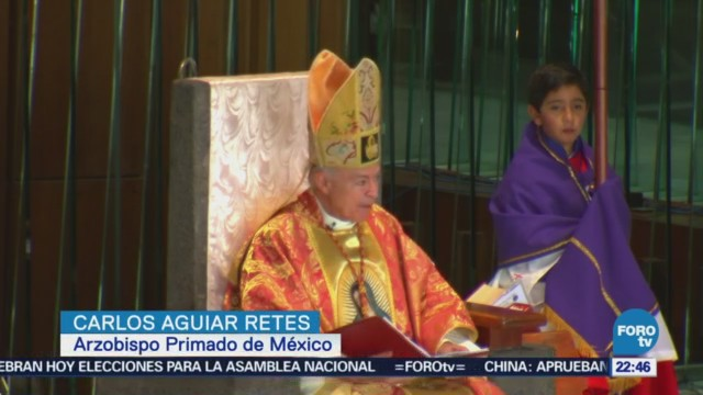 Cardenal Carlos Aguiar Retes Celebra Misa Basílica Guadalupe