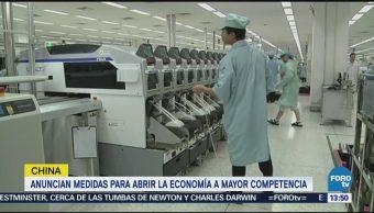 China Busca Más Apertura Comercial