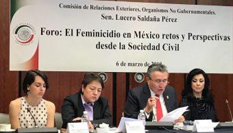 CNDH pide modificación de procedimiento para decreto de Alerta de Género