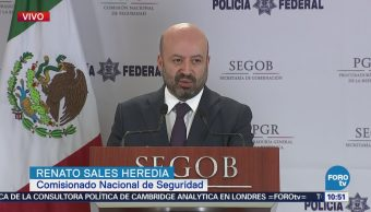 CNS informa los avances del Operativo Titán en México