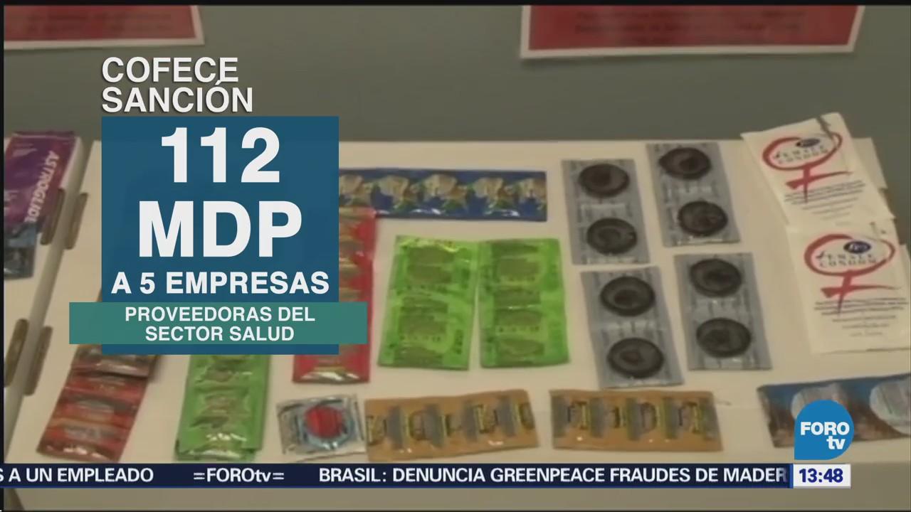 Cofece Multa Empresas Proveedoras Condones