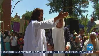 Comienza en Iztapalapa representación 175 de la Pasión y Muerte de Cristo