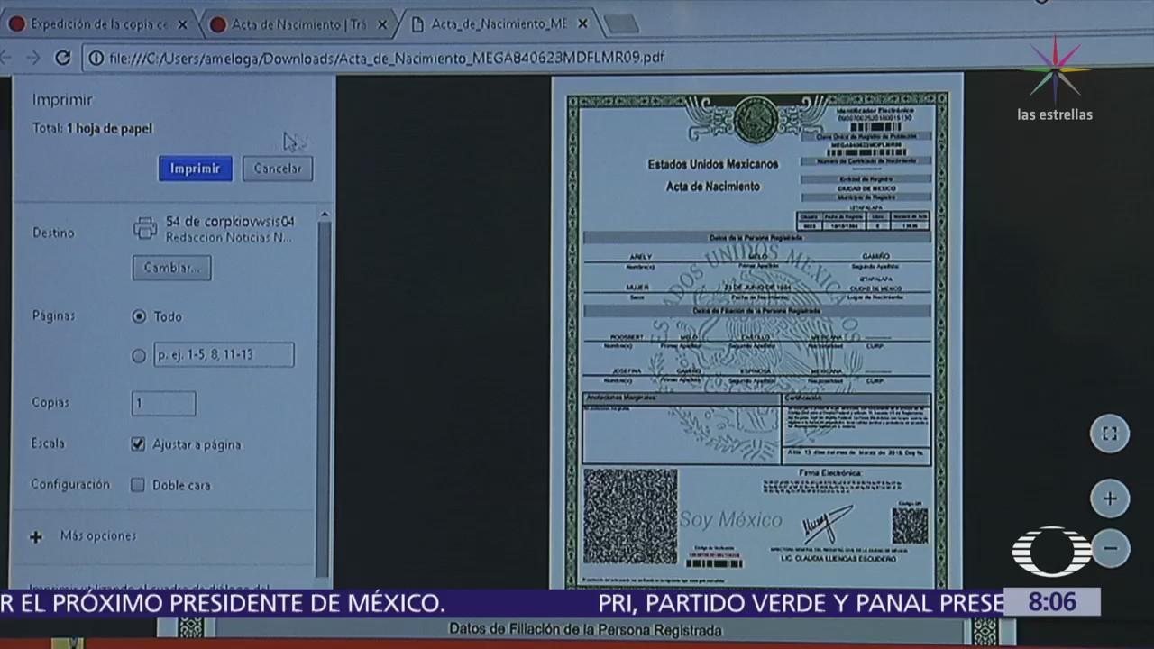 Dorable Conseguir Un Certificado De Nacimiento En Línea Ornamento ...
