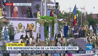 Continúan Representaciones Pasión Cristo Iztapalapa