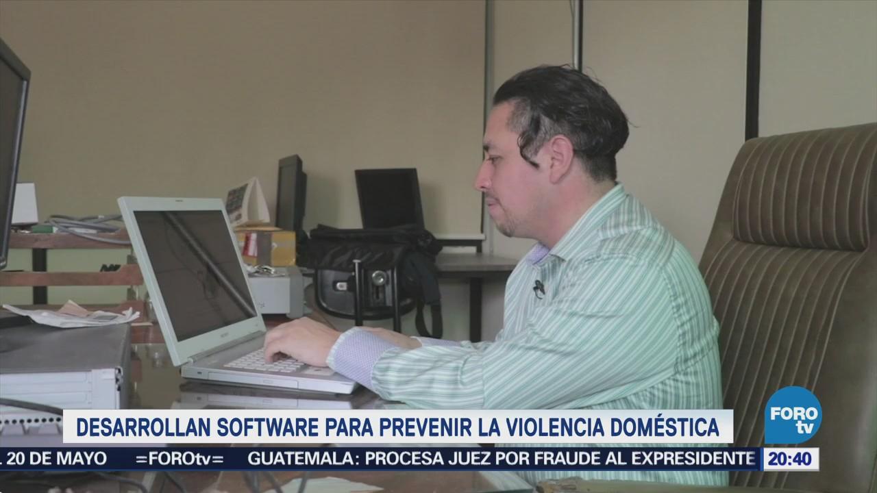 Desarrollan software para prevenir la violencia doméstica