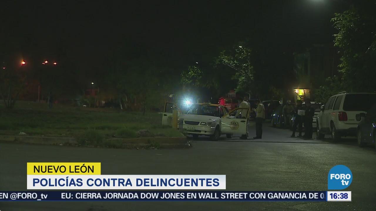 Detienen Presuntos Agresores Policías San Nicolás, Nl
